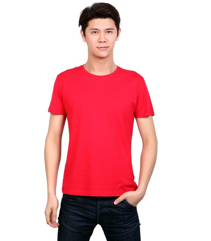 莱赛尔棉文化衫,莱赛尔棉T恤衫订制,红色莱赛尔