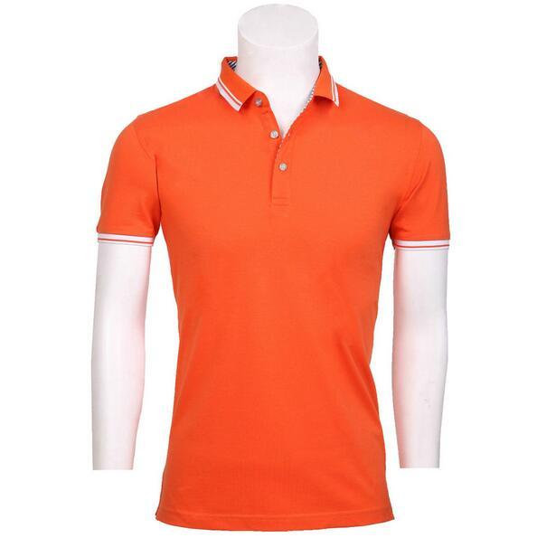 订做橙色t恤,橙色POLO衫定制,橙色T恤衫定做,