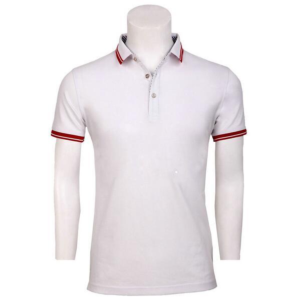 定制翻领POLO衫,定做白色翻领T恤衫,翻领POLO衫白色,