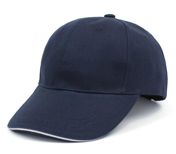 藏蓝棒球帽广告帽太阳帽