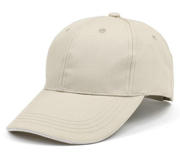 卡其色棒球帽广告帽太阳帽