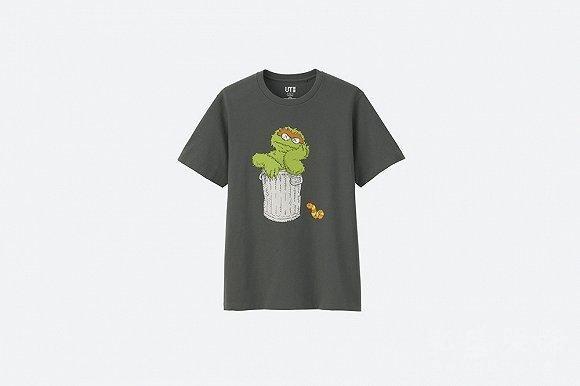 优衣库印花T恤3