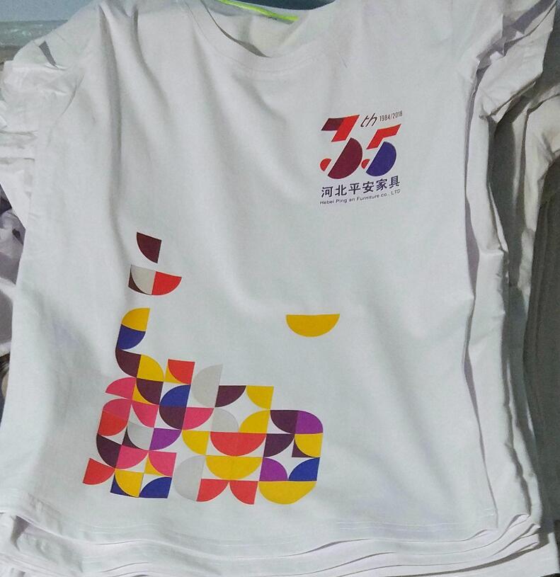 订做T恤时选择什么样的印花工艺最合适?