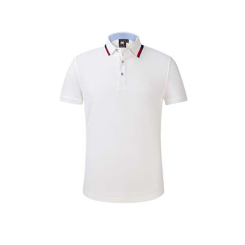撞色珠地网眼精品polo衫,可印绣logo,支持按需定做