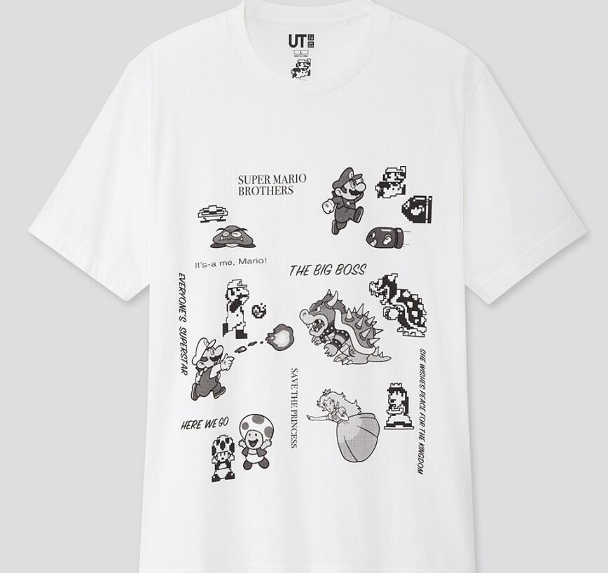 优衣库联名《超级马里奥》发布多款主题UT 预计4月发售