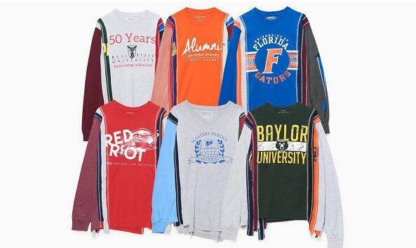 Needles 全新学院风长袖T恤系列发布