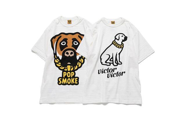 潮牌Humanmade x Pop Smoke 联名纪念T恤系列亮相