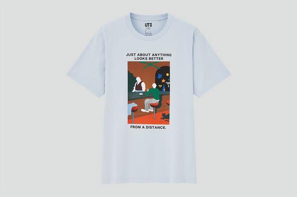 村上春树 x UNIQLO UT 全新联名T恤系列3月8日发售