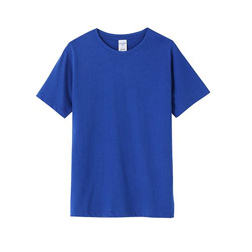 新款加厚40支双纱全棉t恤_现货可印字_定做logo