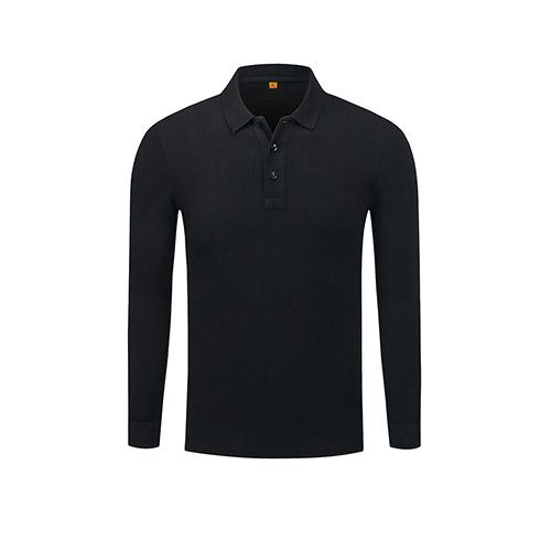 全棉长袖POLO衫,订做长袖POLO衫,高档polo衫厂家,